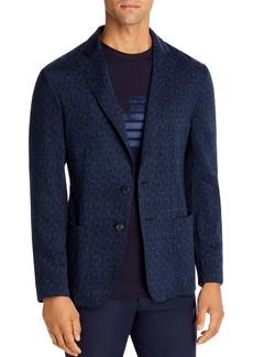Emporio Armani Textured Regular Fit Soft Jacket - 100% Exclusive