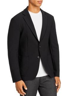 Emporio Armani Textured Regular Fit Soft Jacket