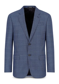 Emporio Armani Textured Suit Jacket