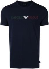 Armani Three-colour logo T-shirt