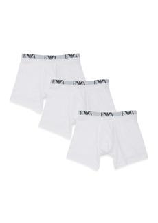 Emporio Armani Three-Pack Cotton Boxer Briefs