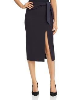 Emporio Armani Tie-Detail Pencil Skirt