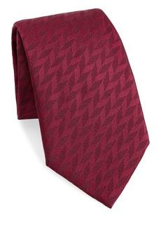 Armani Tonal Chevron Tie