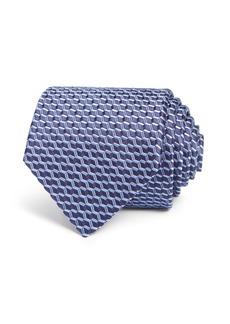 Emporio Armani Tonal Diamond Classic Tie