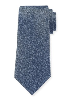 Armani Tonal Dot Silk Tie