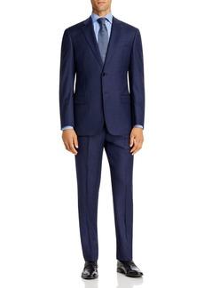 Emporio Armani Tonal Micro-Check Virgin Wool Regular Fit Suit