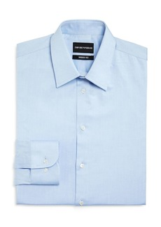 Emporio Armani Twill Basic Regular Fit Dress Shirt