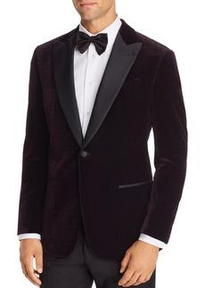 Emporio Armani Velvet Regular Fit Tuxedo Jacket