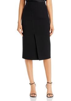 Emporio Armani Vented & Seamed Pencil Skirt