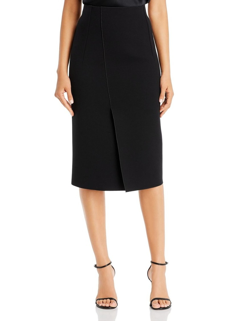 Emporio Armani Vented & Seamed Pencil Skirt