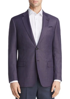 Emporio Armani Virgin Wool Regular Fit Tailored Jacket