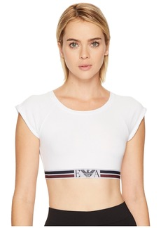 Armani Visibility Athletic Crop Top