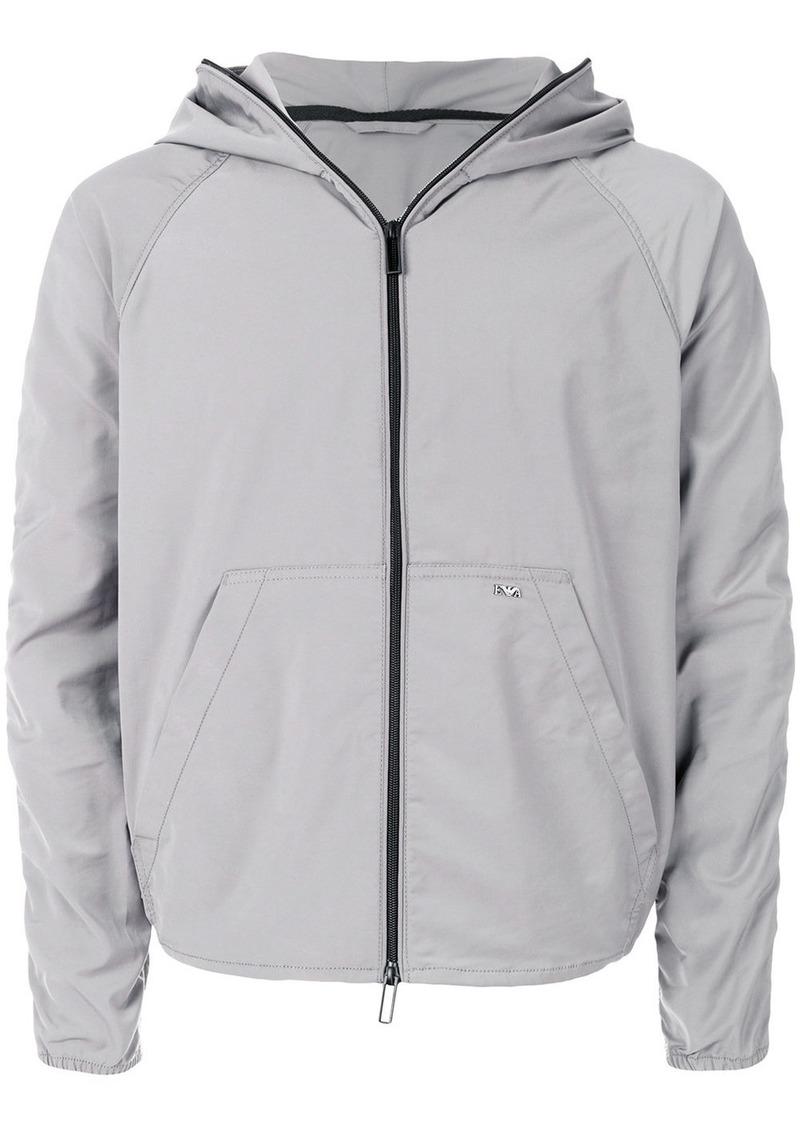 Armani waterproof zipped jacket