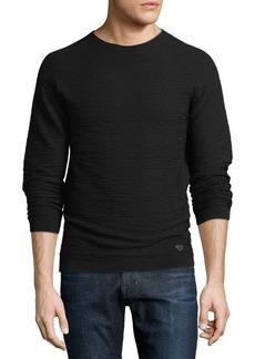 Armani Wavy Jacquard Pullover Sweater