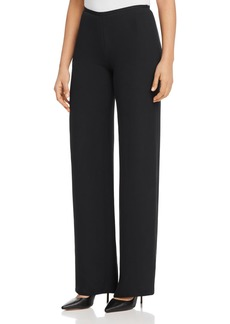 Emporio Armani Wide-Leg Silk Pants