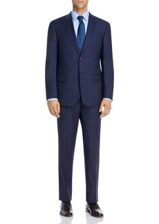 Emporio Armani Windowpane Classic Fit Suit