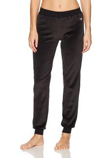 Emporio Armani Women's Chenille Cuffed Pants  M