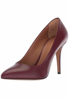 Emporio Armani Women's Classic Pointed Toe Pump Bordeaux 3 Regular EU ( US)