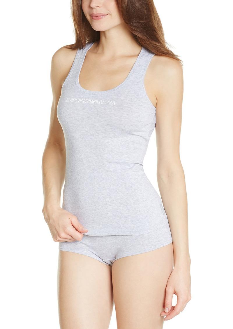 Emporio Armani Women's Essential Stretch Cotton Tank
