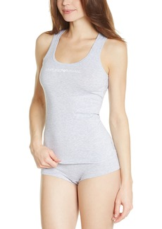 Emporio Armani Women's Essential Stretch Cotton Tank