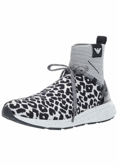 Emporio Armani Women's High-Top Knit Sneaker  3 Medium EU ( US)