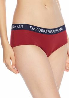 Emporio Armani Women's Iconic Logoband Cheeky Pants