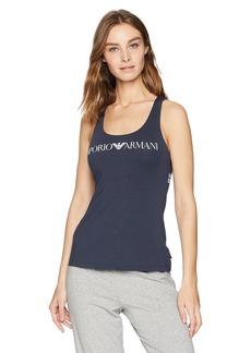 Emporio Armani Women's Iconic Logoband Tank Top  L