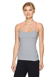 Emporio Armani Women's Iconic Logoband Tank Top with Logo Straps  M