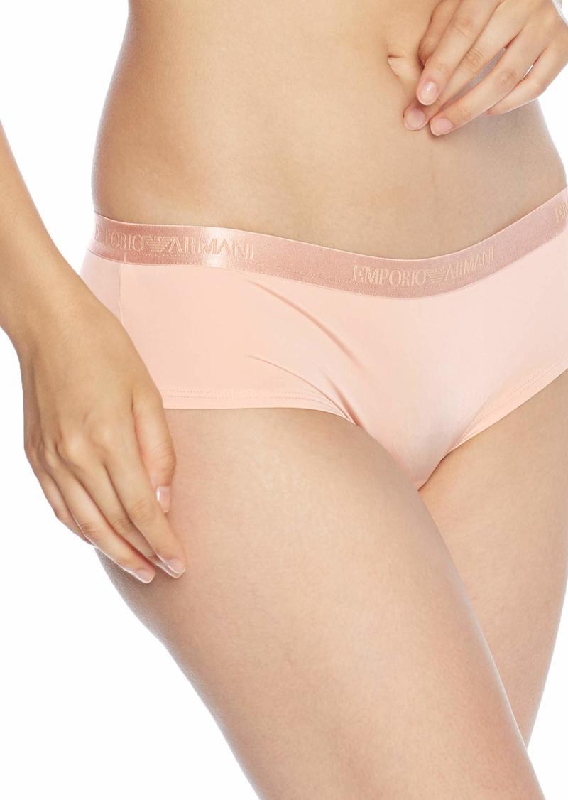 Emporio Armani Women's Iconic Microfiber Cheeky Pants