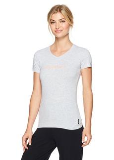 Emporio Armani Women's Iconic Logoband V-Neck T-Shirt  M