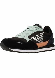 Emporio Armani Women's LACE UP Sneaker  41 Regular EU ( US)