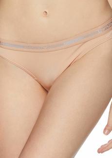 Emporio Armani Women's Microfiber Thong