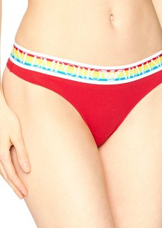 Emporio Armani Women's Over The Rainbow Thong  M