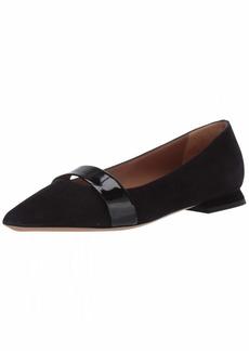 Emporio Armani Women's Pointy Ballet Flat Shoe  40 Regular EU ( US)