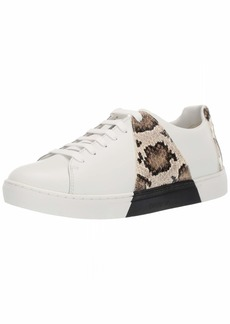 Emporio Armani Women's Snakeskin-Detailed Sneaker  3 Medium EU ( US)