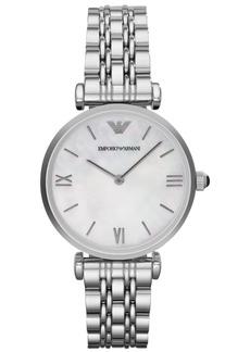 Emporio Armani Women's Stainless Steel Bracelet Watch 32mm AR1682