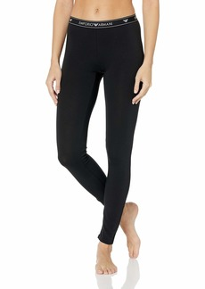 Emporio Armani Women's Stretch Cotton Leggings