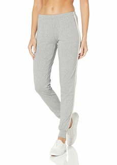 Emporio Armani Women's Stretch Cotton Pants with Cuffs