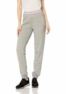 Emporio Armani Women's Stretch Cotton Pants with Cuffs  Extra Large