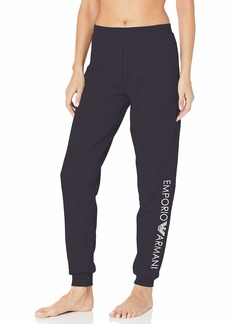 Emporio Armani Women's Stretch Cotton Pants with Cuffs  XL