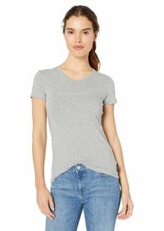 Emporio Armani Women's Stretch Cotton V-Neck T-Shirt