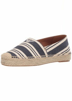 Emporio Armani Women's Striped Espadrille Moccasin Black 3 Medium EU ( US)