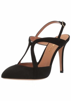 Emporio Armani Women's Suede Strappy Pump  3 Medium EU ( US)