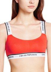 Emporio Armani Women's Visibility Cotton Ultra Bralette Bra