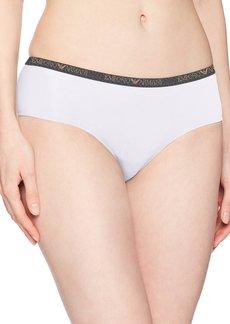 Emporio Armani Women's Visibility Stretch Cotton Cheeky Pants  S