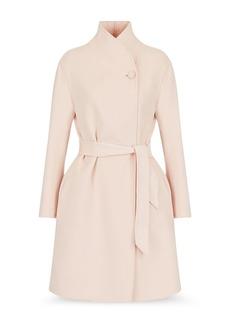 Emporio Armani Wool Blend Coat