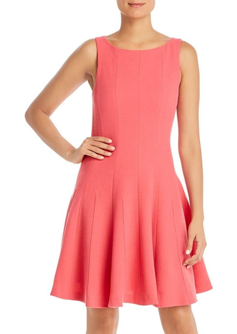 Emporio Armani Wool Fit-and-Flare Dress