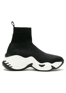 Armani high-top sock sneakers