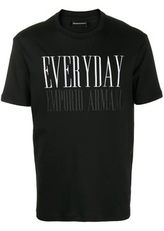 Armani Everyday print T-shirt
