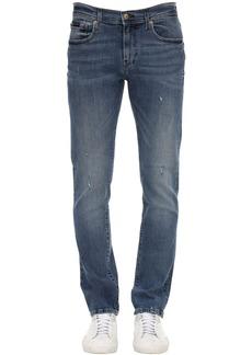 Armani Exchange 12.5oz Medium Blue Wash Jeans